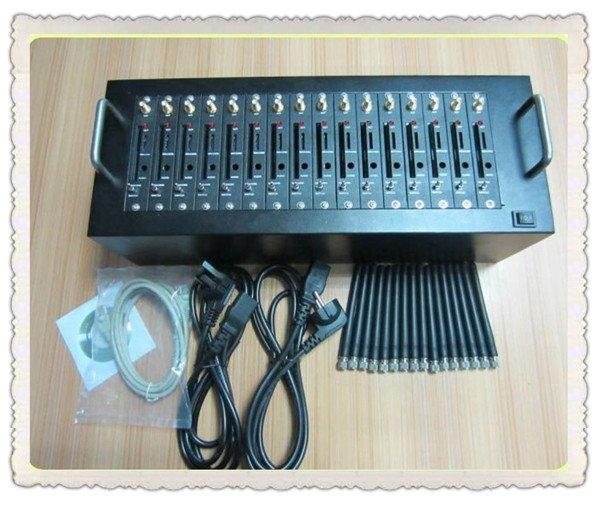 Wavecom Q2406A USB 16 Ports Modem Pool Bulk SMS At Command IMEI Change