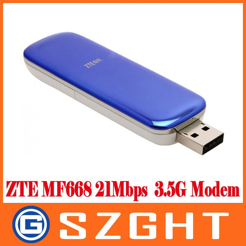 Unlocked ZTE MF668 21Mbps Wireless 3.5G HSUPA Usb Modem