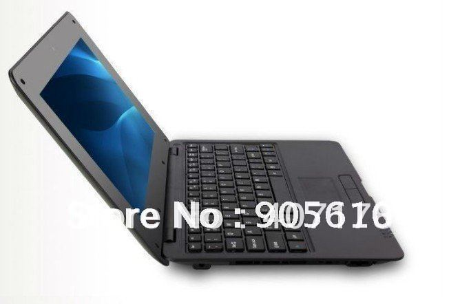 2012 new 10inch EPC mini laptop netbook VIA8650 4G/256M WIFI android 2.2 OS FREE SHIPPING