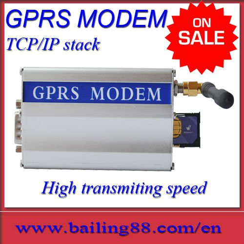 GSM gprs modem with Simens module MC55i and TCP/IP stack High transmitting speed