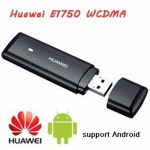 Huawei E1750 WCDMA, 3G  USB Wireless Network Modem Adapter for Tablet PCs,support Android,Free shipping