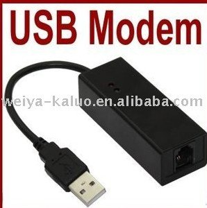 Wolesale 10pcs/lot , USB 2.0 External Fax Modem 56K V.92 V.90 Dial Up Conexant Support Win 7, Free shipping