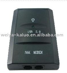 Free shipping 56K USB 2.0 fax modem external modem V9.2/V9.0