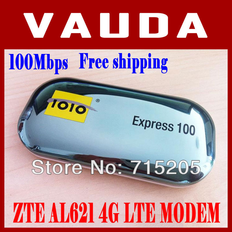 China post Free Shipping! UNLOCKED 4G LTE USB Wireless network card Support 2G 3G 4G 1010 Express 100 ZTE AL621