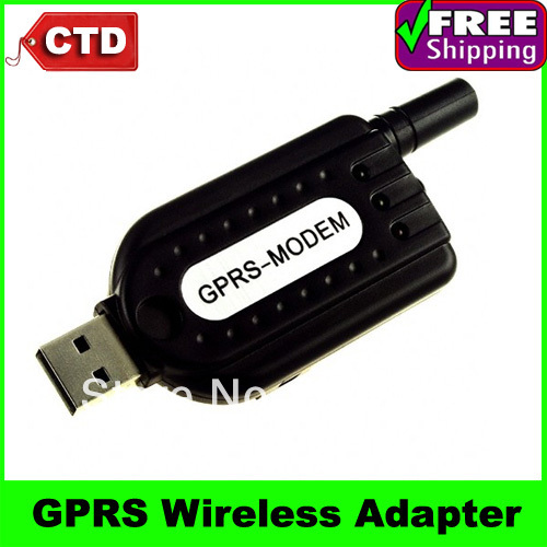 Free Shipping Wholesale And Retail USB Tri-Band GPRS Wireless Adapter Dongle Support Voice, SMS, Data Transmit