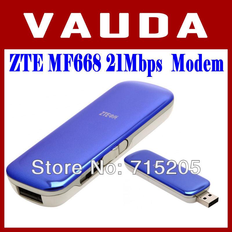 Unlocked ZTE MF668 21Mbps Wireless 3.5G HSUPA Usb Modem