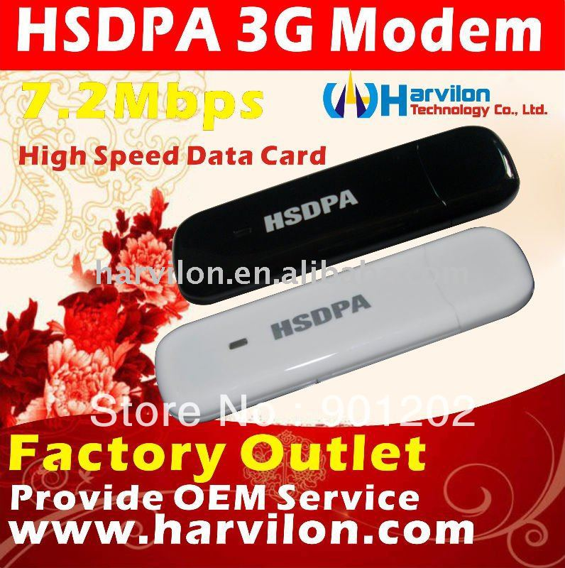 WCDMA-HSDPA Modem Fashion Design 7.2M