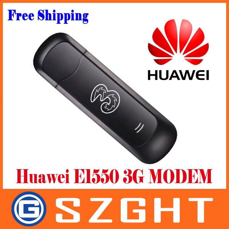 Unlocked Huawei E1550 3G 3.6M Wireless Modem Wholesale Free Shipping