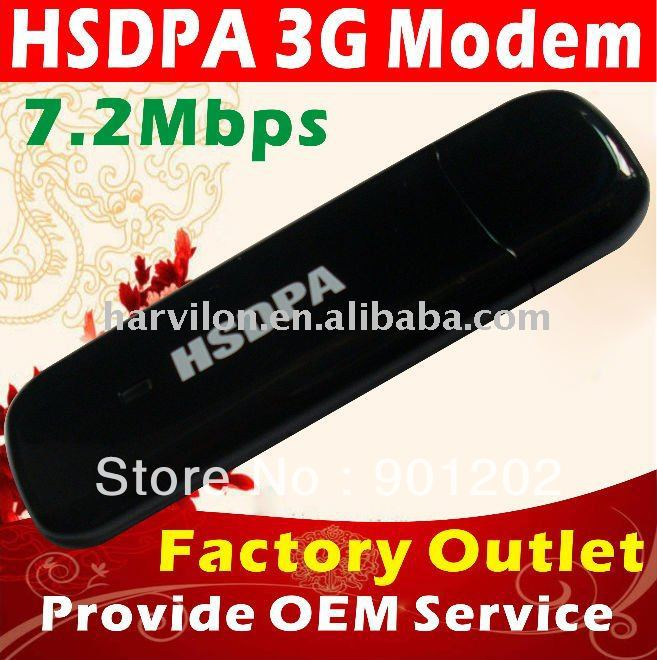 7.2Mbps HSDPA USB Wireless Modem OEM
