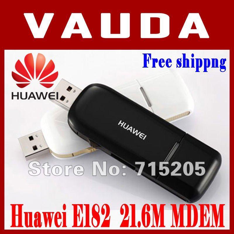 Freeshipping HUAWEI E182E WCDMA 3G Modem USB Modem HSPA+ High Speed 21.6Mbps