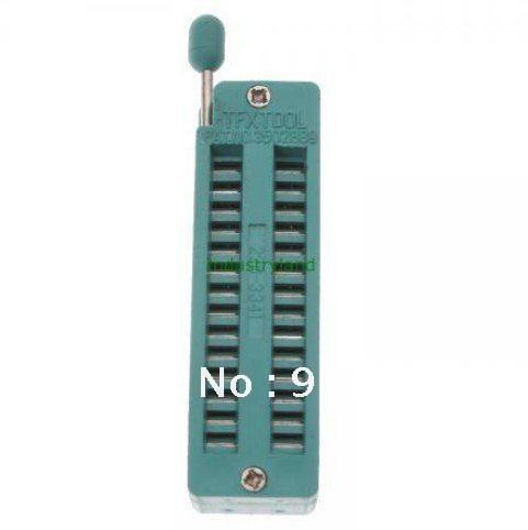 1pcs NEW 28 Pin Universal Zif Dip Tester IC Test Socket
