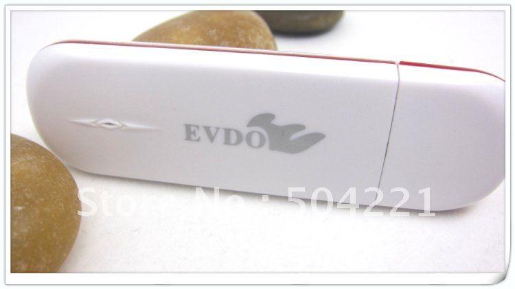 Beautiful White EVDO CDMA telecom 3G SIM Card Modem , FROM OF JOYFOUCUS BY KIM