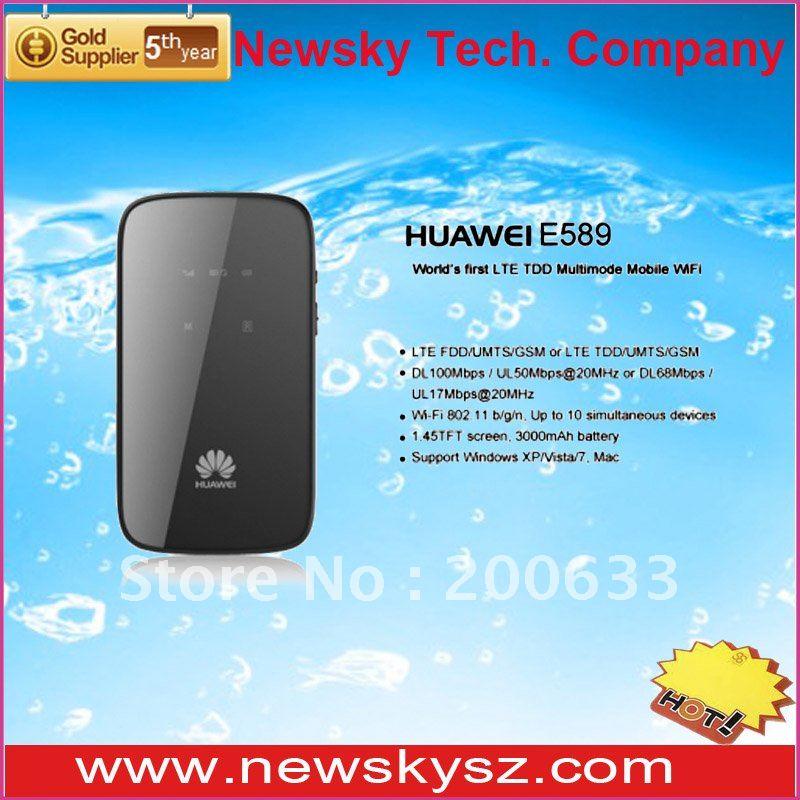100Mbps HUAWEI E589 LTE Pocket Wifi