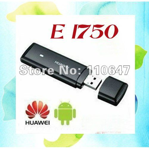 Huawei E1750 WCDMA 3G Wireless USB Modem Network Card for Android Tablet PC HSDPA EDGE GPRS Free shipping