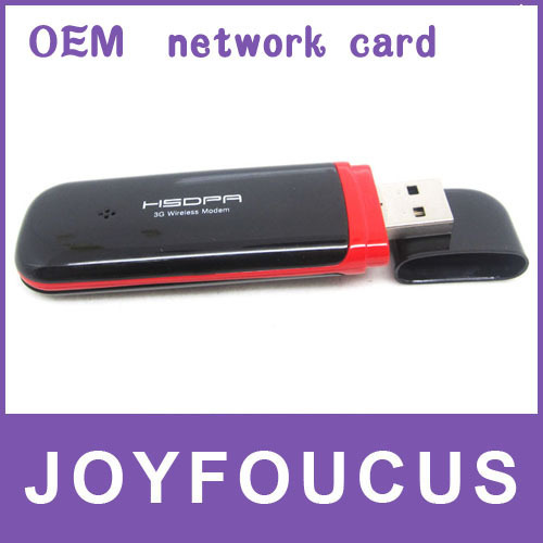 6 PCS  Hong Kong post free  FREE FREIGHT High Quality PK Huawei/ZTE Fast Speed 7.2M Wireless Data Card 3G USB Modem Android