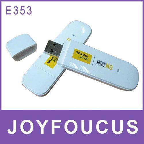 Hong Kong  free shipping  New HuaWei E353 3G Wireless Modem 21.6Mbps PK (E220 E173  E182E MF110)