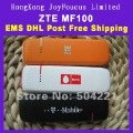wholesale  WCDMA/HSDPA/UMTS/EDGE/GPRS/GSM 3G/2G Modem ZTE MF100,PK MF633/MF636 T-mobile mobile broadband USB,New,freeshipping