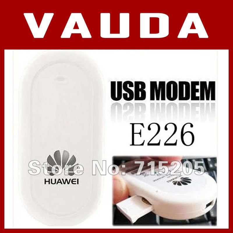 Freeshipping unlocked wireless huawei E226 3G usb modem 7.2Mbps  PK  E220