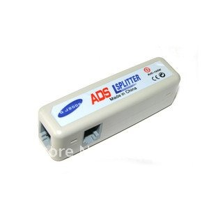 ADSL Modem Broadband Phone Line Filter Splitter 01