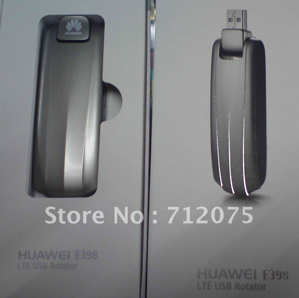 EMS/DHL Free shipping Huawei E398 4G LTE wireless Modem 100Mbps unlocked 4G band(900/1800/2100/2600MHz )