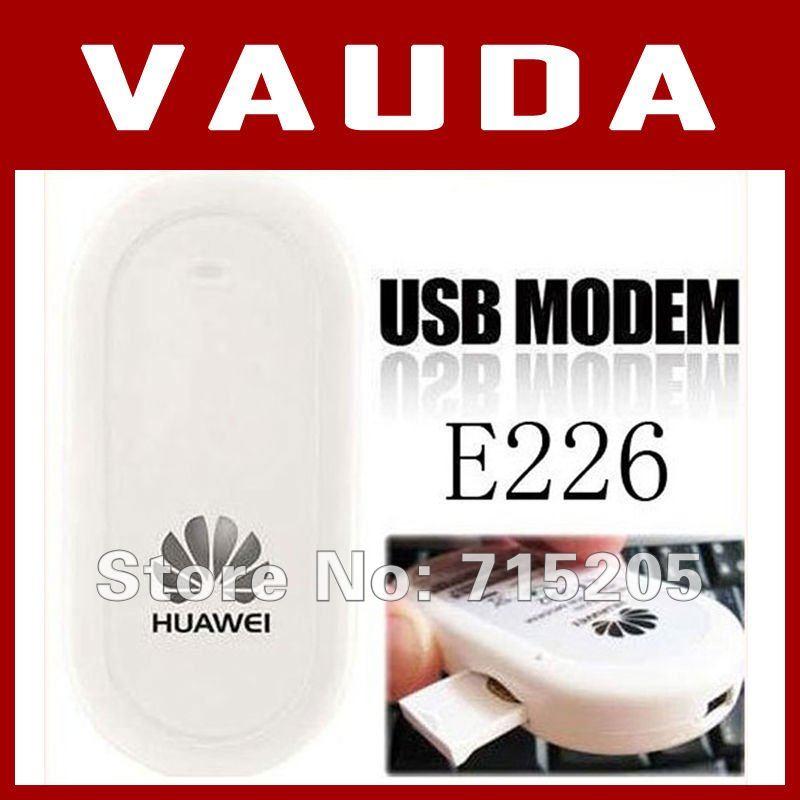 Freeshipping unlocked wireless huawei E226 3G usb modem 10pcs/lot  huawei E220