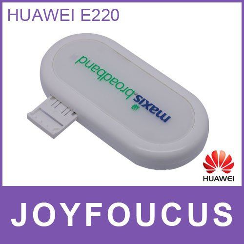 3G Modem HuaWei E220,PK Huawei E1550/E160 network card ,support google android tablet PC Hong Kong post air mail  free shipping