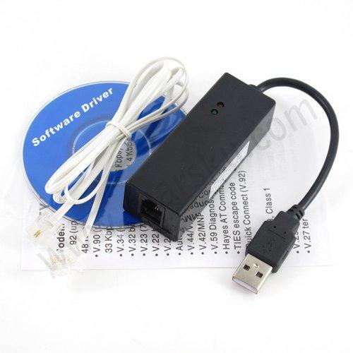 USB 2.0 Fax Modem with External 56K V.92/ V.90 for 2000/XP/Vista/Linux/Windows7 + Free shipping 810