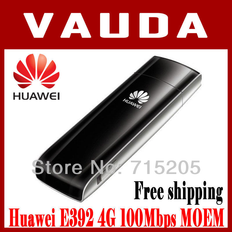 DHL free shipping E392 HUAWEI unlocked LTE TDD FDD Multi-Mode 4G wireless date card , from joyfoucus by kim