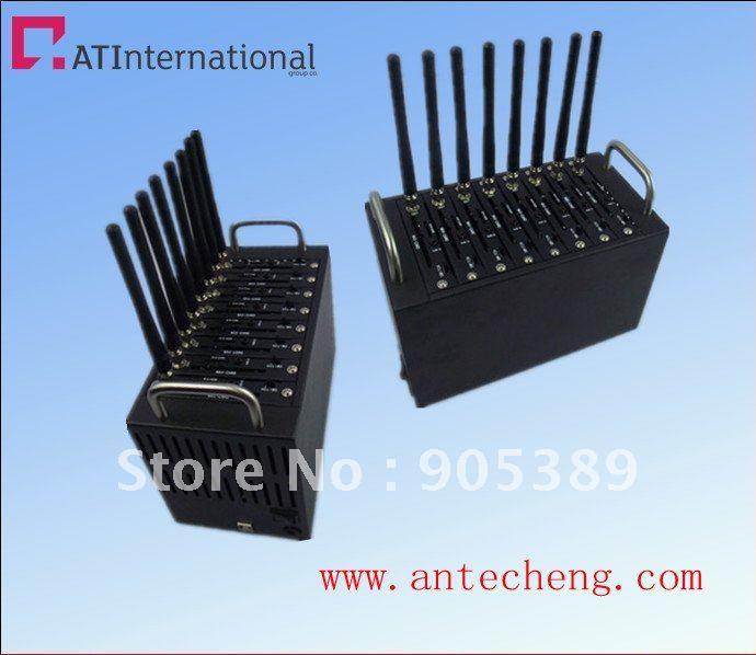 Free shipping 8 sim cards gsm/gprs modem pool