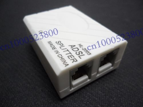 New ADSL Broadband Modem Phone Line Splitter Filter