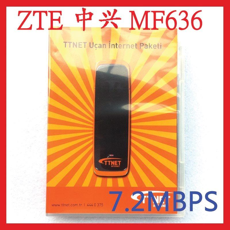 100% UNLOCK ZTE MF636 3g wcdma usb STICK NETWORK CARD mobile broadband