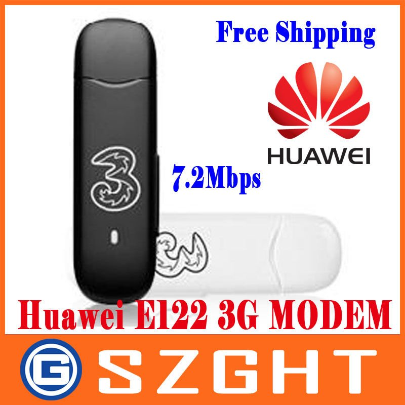 Huawei E122 HSDPA HSUPA Mobile Broadband 3.5G USB Modem 7.2Mbps Free Shipping
