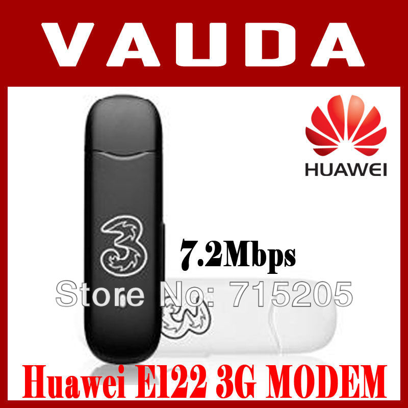Freeshipping high speed New Huawei E122 HSDPA 3G modem USB Broadband Unlocked cheap modem WEIL