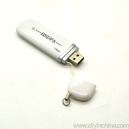 3G HSDPA,3G USB Wireless Modem 7.2Mbps White Wholesale Free Shipping CN0074