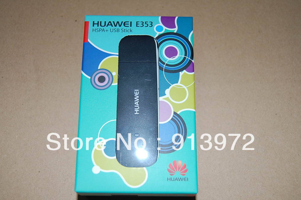 DHL/EMS Free shipping original Huawei E353 3G wireless Modem network card 21.6 Mbps 3G band:900/2100M support drive test Tems 10