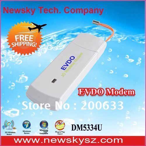 New 800Mhz EVDO Rev.O 3G Wireless Modem, USB Modem DM5334U