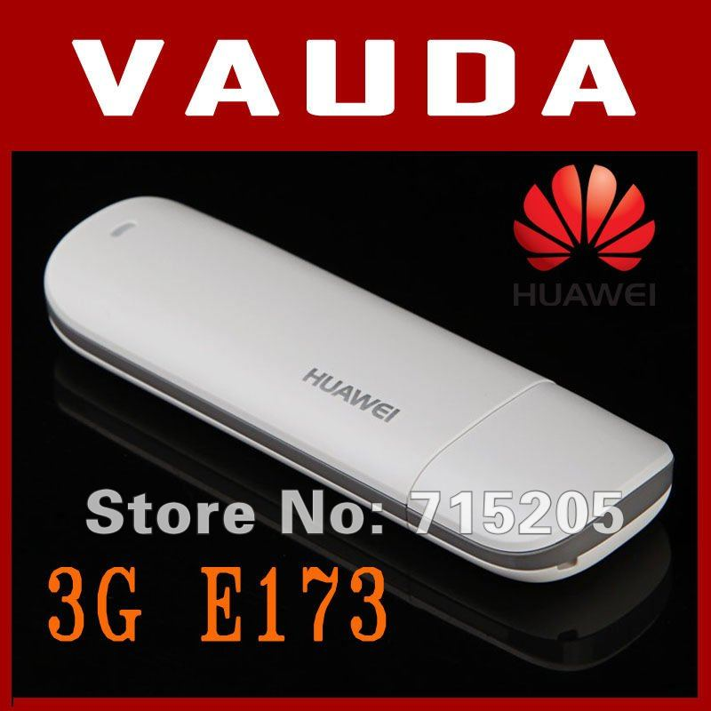 Huawei E173 WCDMA 3G USB Wireless Modem Dongle Adapter SIM TF Card HSDPA EDGE GPRS Free Shipping+Drop Shipping
