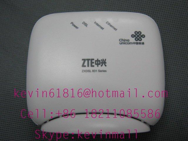 ZTE ADSL Modem ZXdsl 831II or 831BII single port bridge high speed