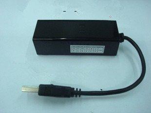 Free shipping 1pcs FAX MODEM USB Powerline 56 k external modems support win7