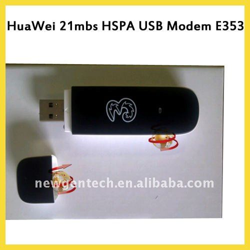 21m Huawei E353 USB Modem With anttena port