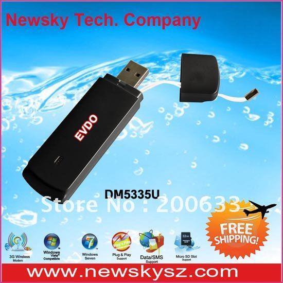 Hot! USB 3G EVDO Modem 800MHz Support Data/SMS/PC Voice DM5335U