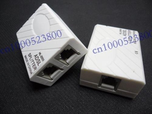 Telephone RJ11 Line ADSL Modem Micro Filter Splitter