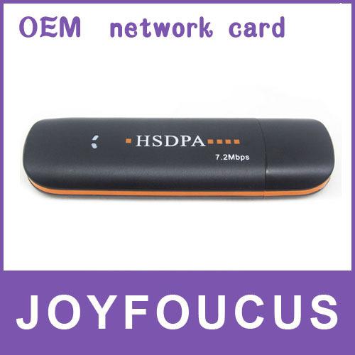 3 PCS  Hong Kong post free shipping  Factory OEM 7.2Mbps USB 3G Wireless HSDPA Modem(High quality ,low price) --- H320