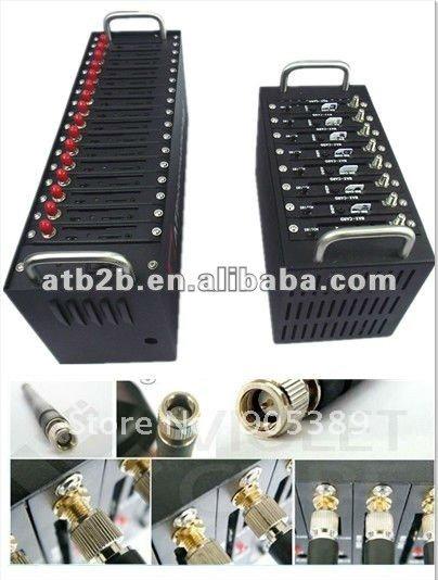 free shipping 16 channel gsm sms modem/ bulk sms platform 100% factory price wavecom modem