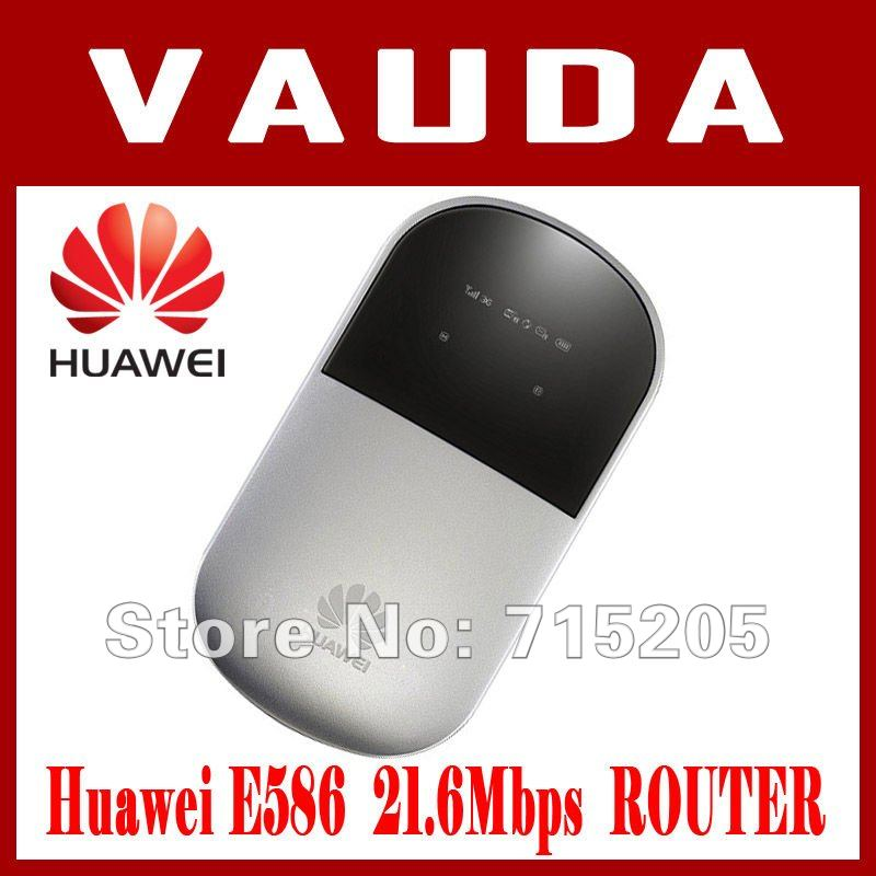 SEALED + ORIGINAL HUAWEI E586 HSPA+ 21 Mbps 3G MOBILE BROADBAND MODEM WiFi ROUTER - UNLOCKED - BOX PACKED