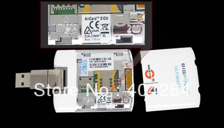Freeshipping by DHL/EMS original unlocked  42Mbps modem aircard Sierra 312u