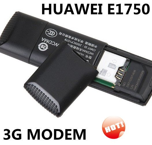 2pcs Unlocked HUAWEI 3G MODEM E1750 For flytouch android windows OS GPRS/EDGE/WCDMA/UMTS/HSDPA