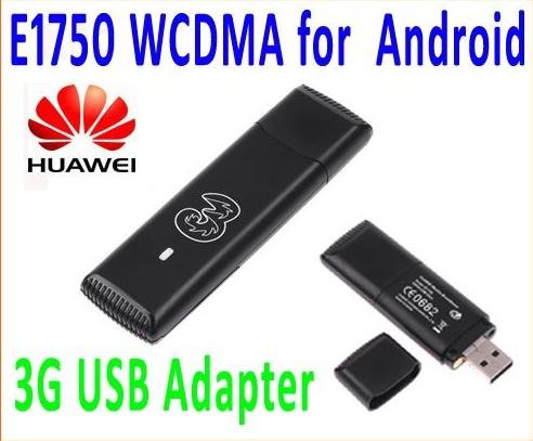 Huawei E1750 WCDMA 3G Wireless USB Modem Dongle Adapter for PC Tablet SIM TF Card HSDPA EDGE GPRS Android System Support