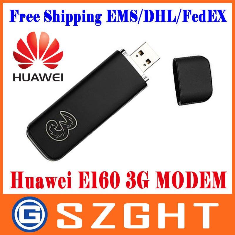 Huawei E160 / E160E / E160G 3G Wireless Modem USB stick 3G Dongle Free shipping