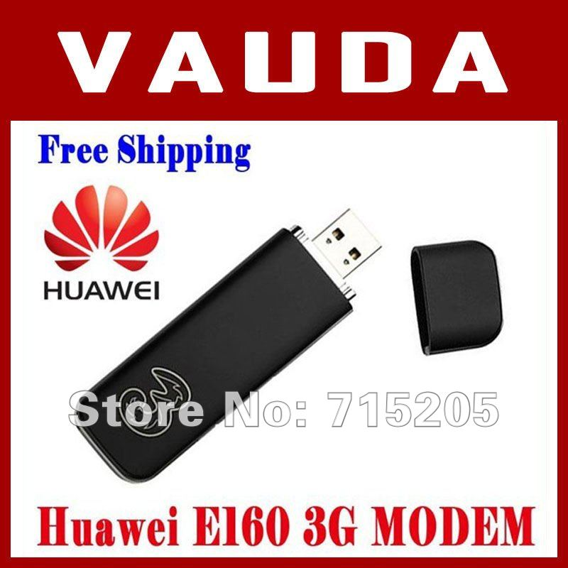 Free shipping EMS/DHL  Wholesale Huawei E160 3G /HSDPA DATA CARD